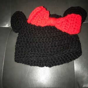 Crochet Minnie beanie